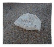 Shell And Sand Fleece Blanket
