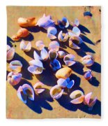 Shell Collection Fleece Blanket