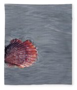 Shell Imprint Fleece Blanket