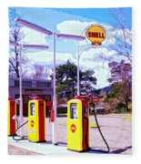 Shell Station Fleece Blanket