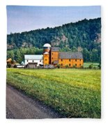 Shenandoah Valley Farm Fleece Blanket