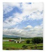 Shenandoah Valley West Virginia Scenic Series Fleece Blanket
