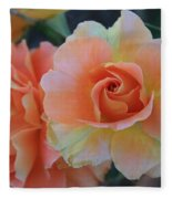 Sherbert Rose Fleece Blanket