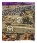 Sherman Attack Fleece Blanket