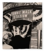 Shibe Park - Connie Mack Stadium Fleece Blanket