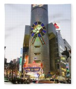 Shibuya Fleece Blanket