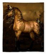 Shikoba Choctaw Horse Fleece Blanket