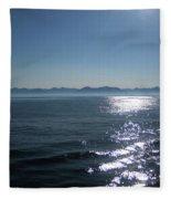 Shimmering Sea Fleece Blanket