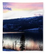Shimmering Waters Fleece Blanket