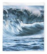 Shiny Wave Fleece Blanket