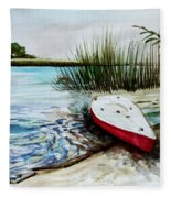 Ship Ahoy Fleece Blanket