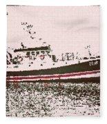 Ship Fleece Blanket