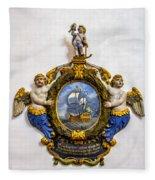 Ship Memorial Fleece Blanket