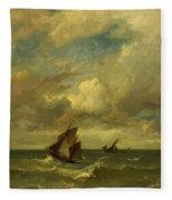 Shipping In A Breeze Fleece Blanket