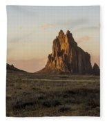 Shiprock 2 - North West New Mexico Fleece Blanket