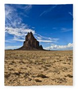 Shiprock #6 Fleece Blanket