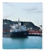 Ships Fleece Blanket