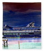 Shipshape 5 Fleece Blanket