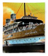 Shipshape 6 Fleece Blanket