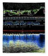 Shipshape 8 Fleece Blanket