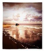 Shipwrecked 2 Fleece Blanket