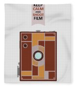 Shoot Film Fleece Blanket