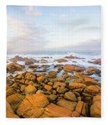 Shore Calm Morning Fleece Blanket