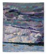 Shore To Shore Showers Fleece Blanket