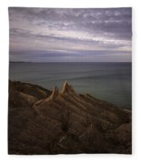 Shoreline Sentries Fleece Blanket