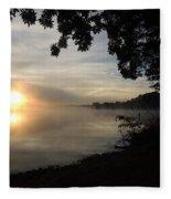 Shoreline Sunrise Fleece Blanket