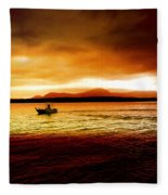 Shores Of The Soul Fleece Blanket