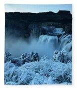 Shoshone Falls Panorama Fleece Blanket