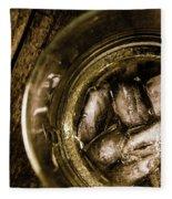 Shot Of Whisky On The Rocks Fleece Blanket