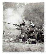 Shots Fired Civil War Fleece Blanket