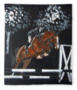 Show Jumper Fleece Blanket