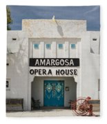 Show Tonight Amargosa Opera House Fleece Blanket