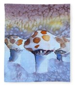 Shrooms Fleece Blanket