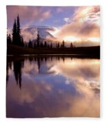 Shrouded In Clouds Fleece Blanket