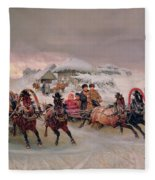 Shrovetide Fleece Blanket