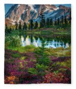 Shuksan Autumn Fleece Blanket