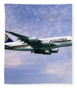 Sia A380 9v-ska Fleece Blanket