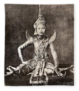 Siam: Dancer, C1870 Fleece Blanket