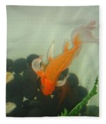 Siamese Fighting Fish 1 Fleece Blanket