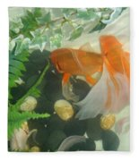 Siamese Fighting Fish 2 Fleece Blanket
