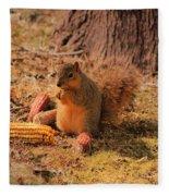 Sibyl Loves Corn Fleece Blanket
