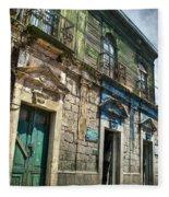 Side Street Homes Antiqua Guatemala 5 Fleece Blanket
