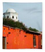 Side Street Homes Antiqua Guatemala Fleece Blanket