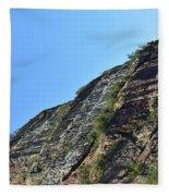 Sideling Hill Rock Fleece Blanket