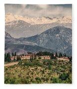 Sierra Nevada View Fleece Blanket