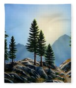 Sierra Sentinals Fleece Blanket